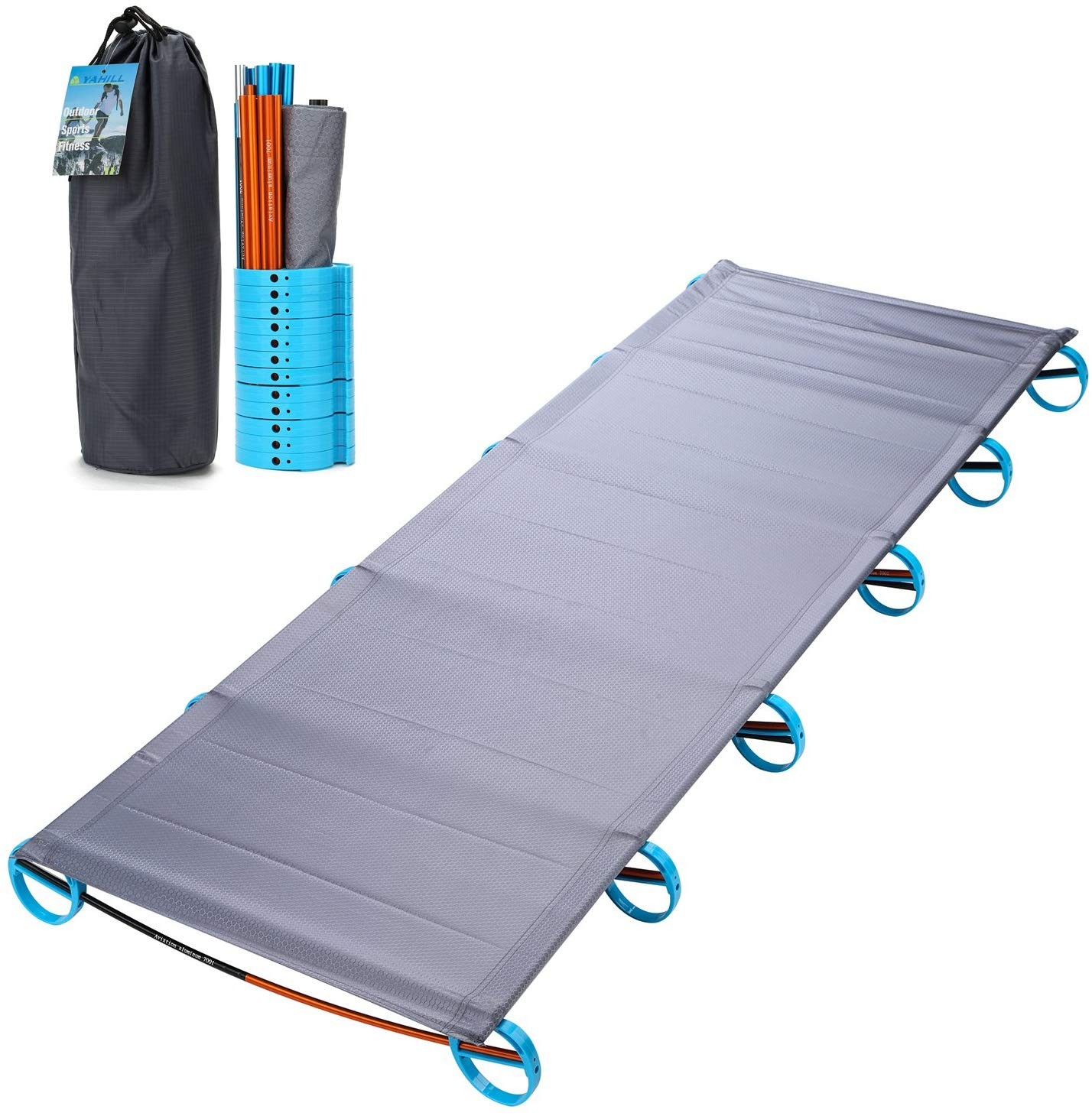 Aluminum Portable Camping Bed