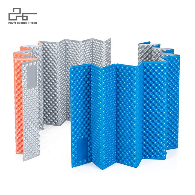 Folding IXPE Egg Crate Camping Mat