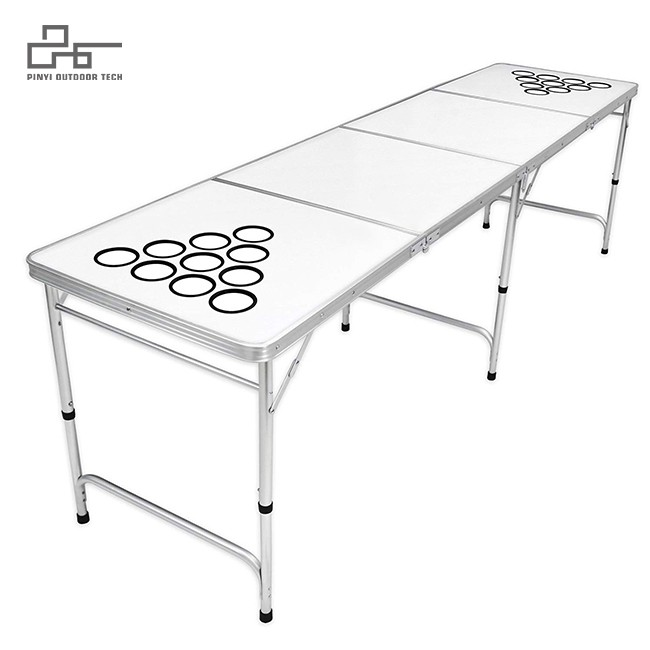Folding Beer Pong/Flip Cup Table