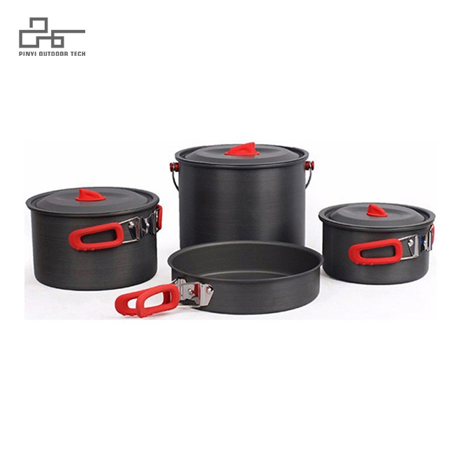 Camp Kitchen Pot Durable Cook Set