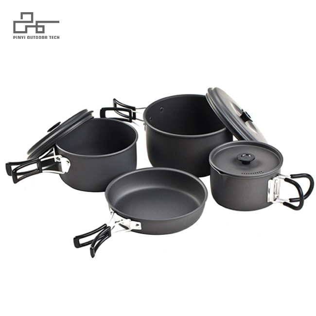 Lightweight and Portable Cookware Set Designed for 1-3 People