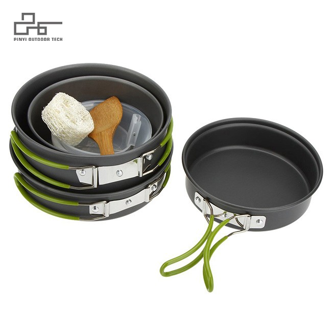 11pcs Outdoor Cooking Equippment Cook set
