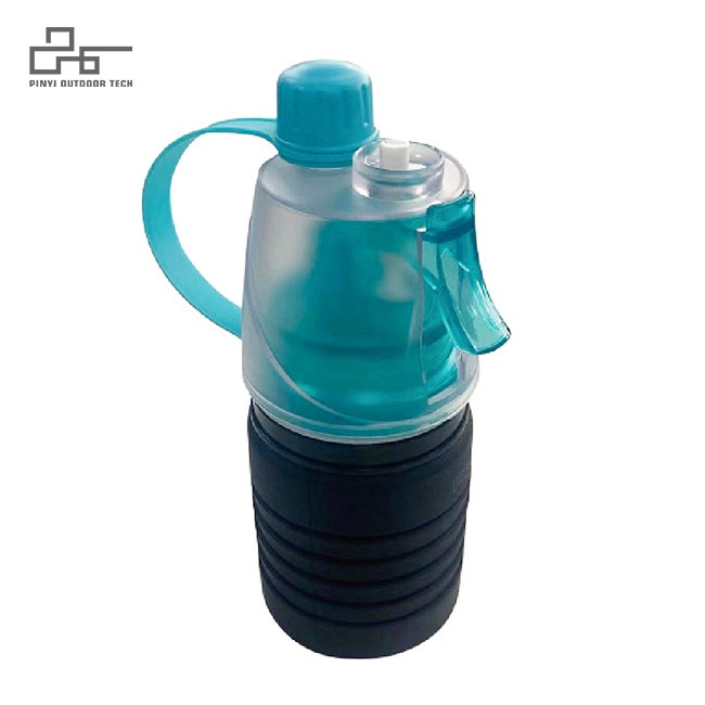 Collapsible Camping Cup Sport Bottle with lids