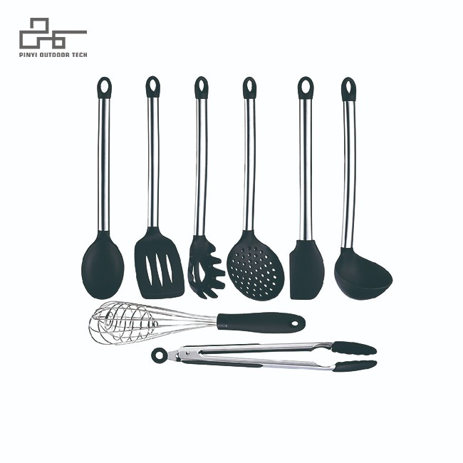 8 Pieces Non-Stick Cooking Utensils Spatula Set