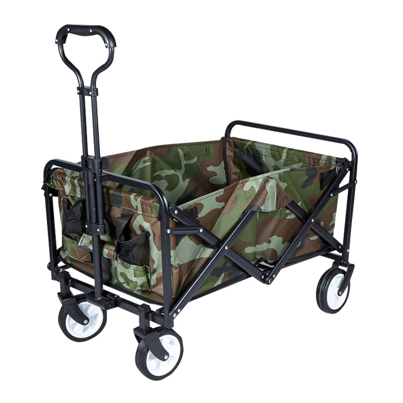 Folding Outdoor Utility Wagon Cart
