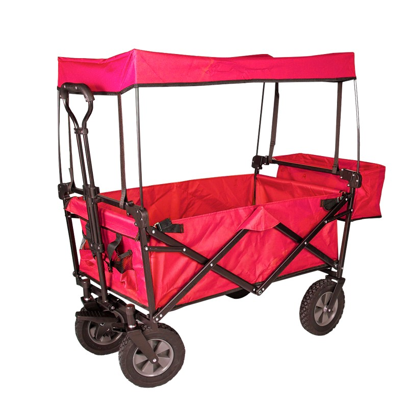Camping Cart Trolley hand truck collapsible Canopy