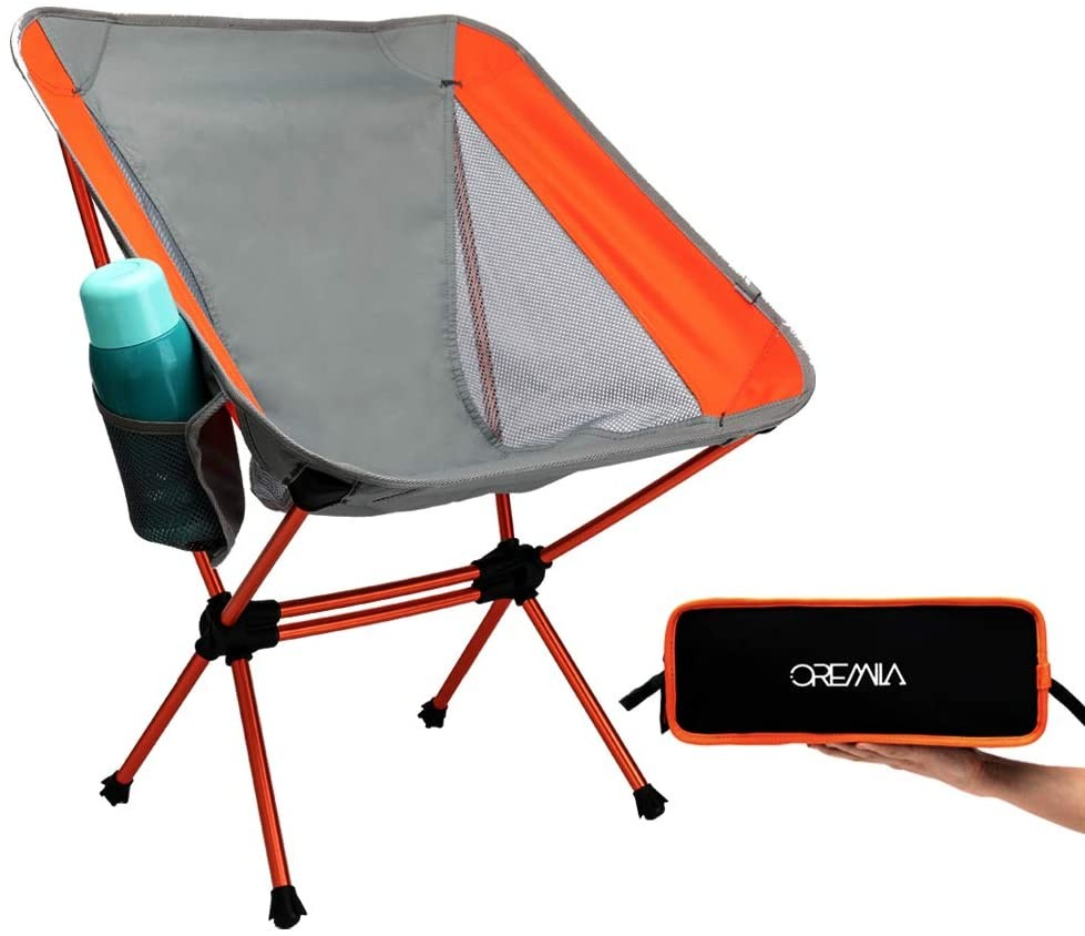 Ultralight Folding Backpacking Chairs with Carry Bag