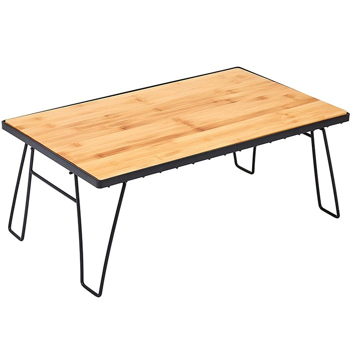 Mini Folding Bamboo Table