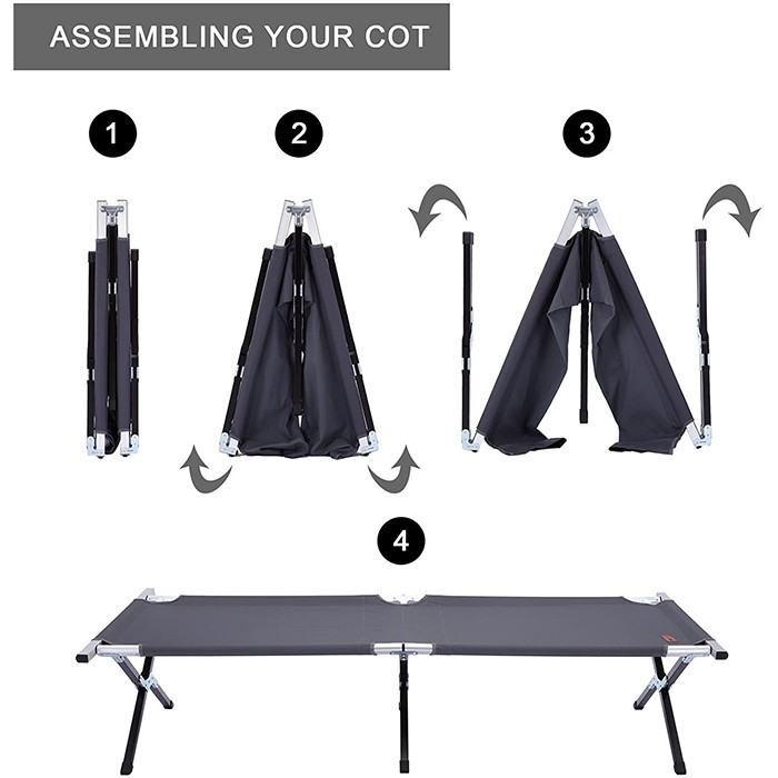 Camping Cot for Adults