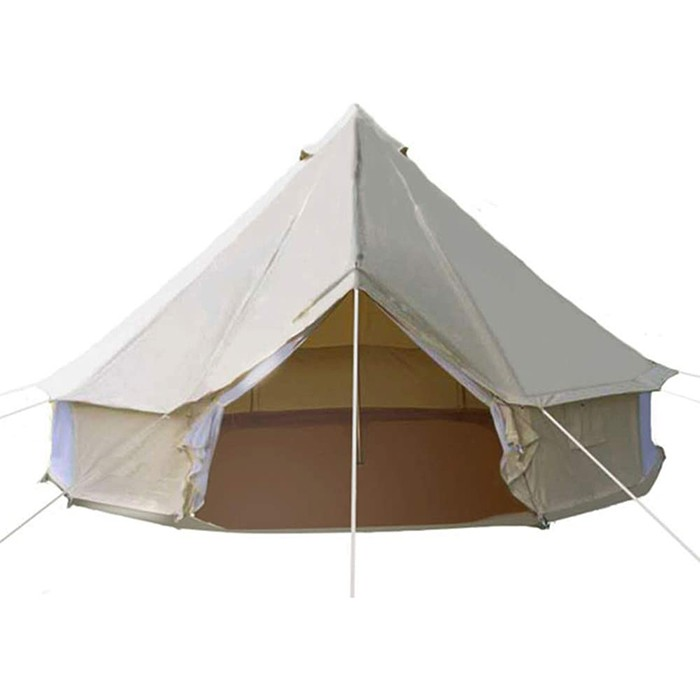 4-Season Roomy Waterproof Cotton Bell Yurt Tents