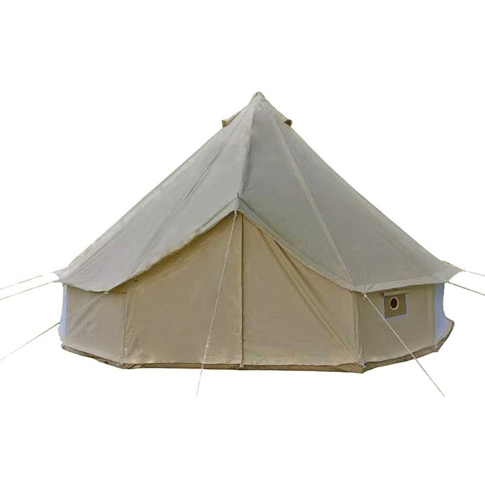 4-Season Roomy Waterproof Cotton Bell Yurt Tents