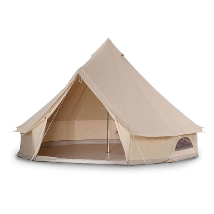 Cotton Canvas Canopy Bell Tent for Camping Wedding Party