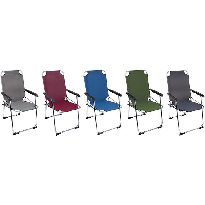 Aluminum Portable Foldable Camp Chair