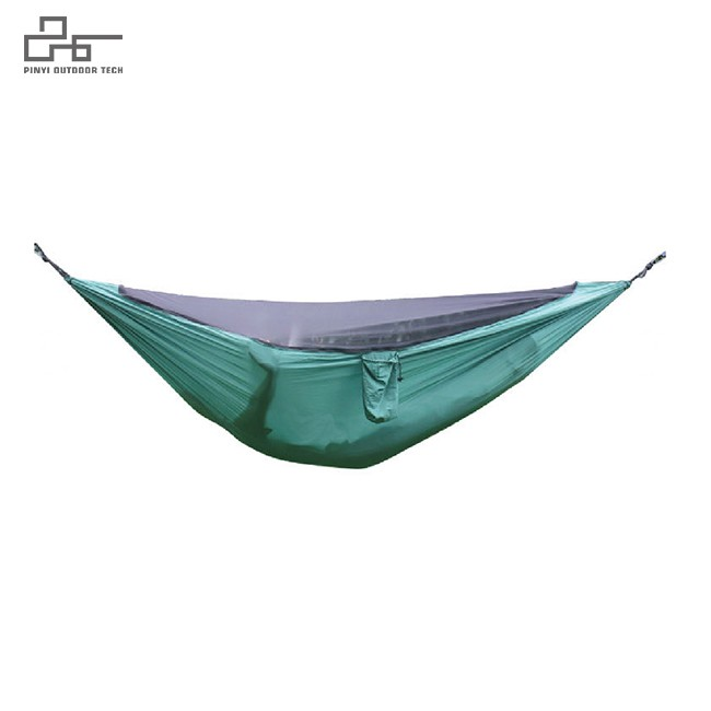 Self-bolting Mosquito Net Hammock
