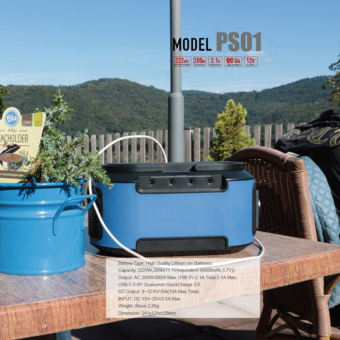 Outdoor Portable Power Supply Station