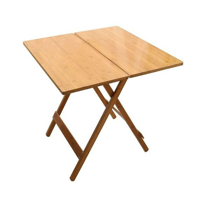 Natural Bamboo Outdoor Folding Camping Picnic Table