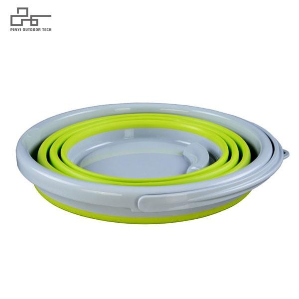 5L Portable Silicone Bucket Wash Basin 2
