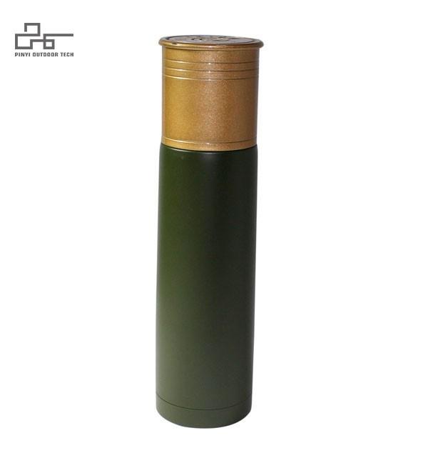 Shotgun Shell Style Vacuum Bottle