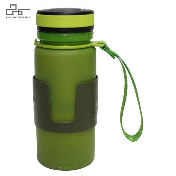 Silicon Soft Foldable Water Bottle