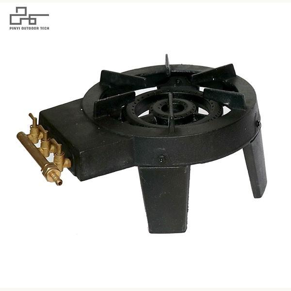 Heavy-Duty Single Burner Propane Stove