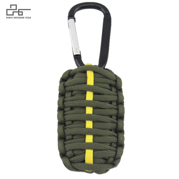 Compact Paracord Survival Kit