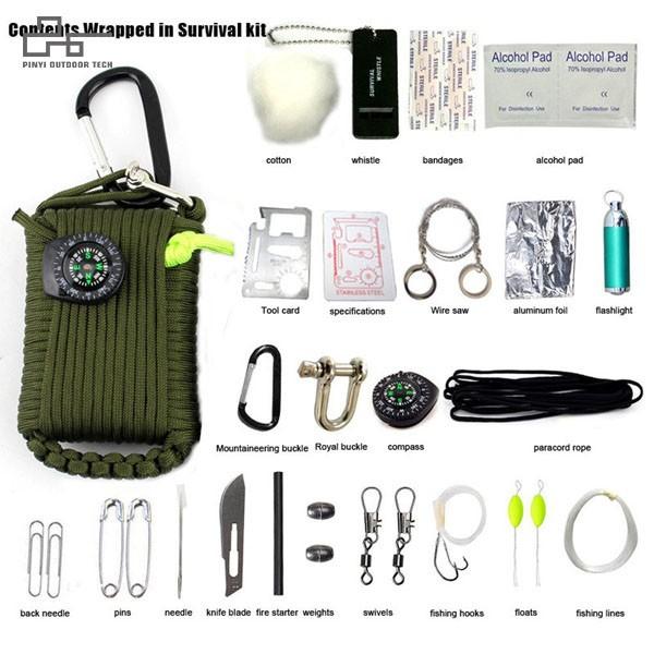 Multifunction Paracord Survival Kit