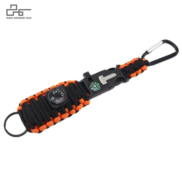 Paracord Survival Kit Keyring