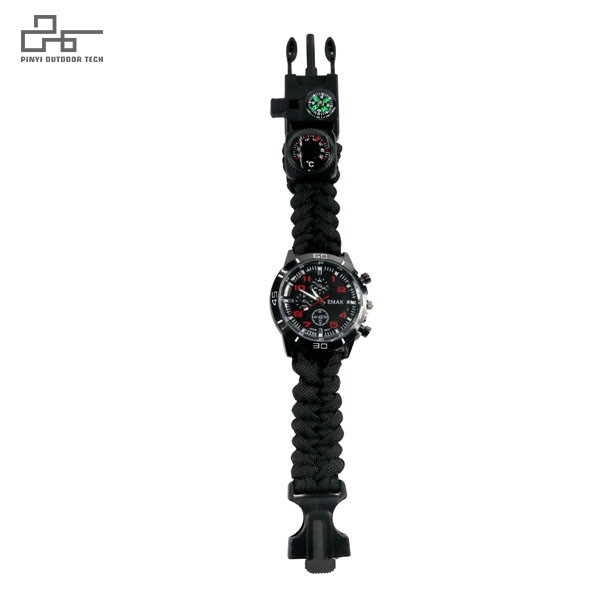 Survival Bracelet Watch