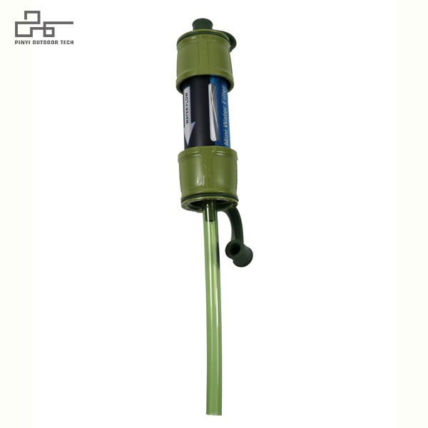 Water Filter Straw with Accessory