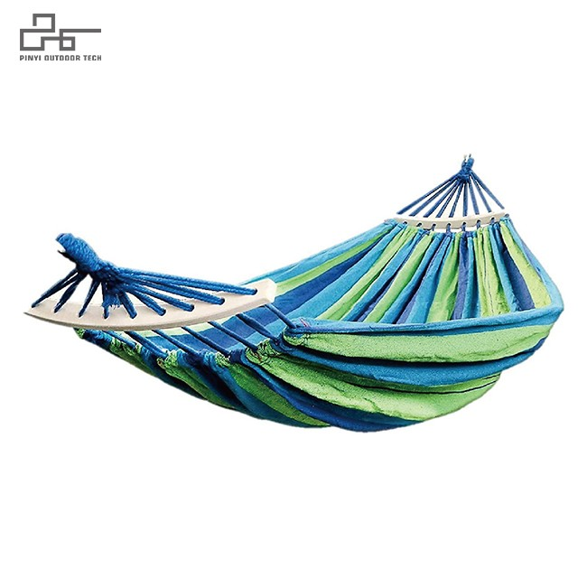 Canvas Hammock With Stick