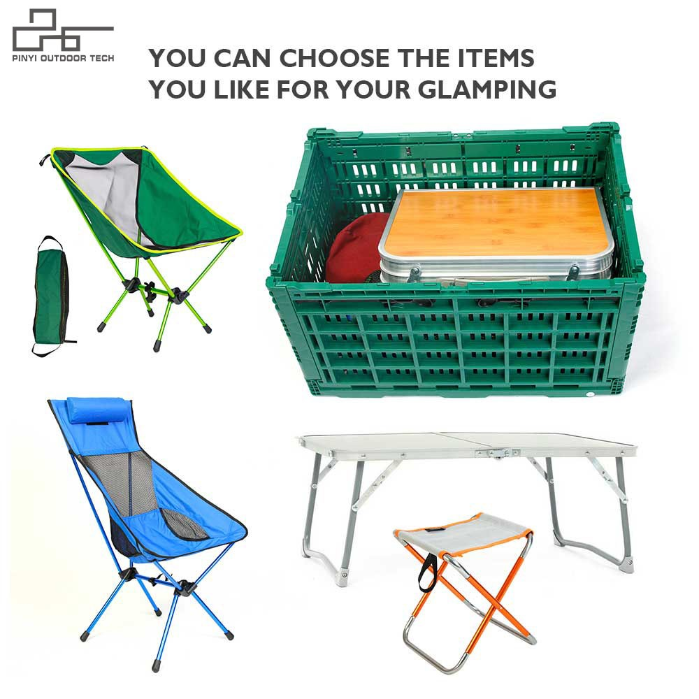 Camping Picnic Simple Set With Folding Box