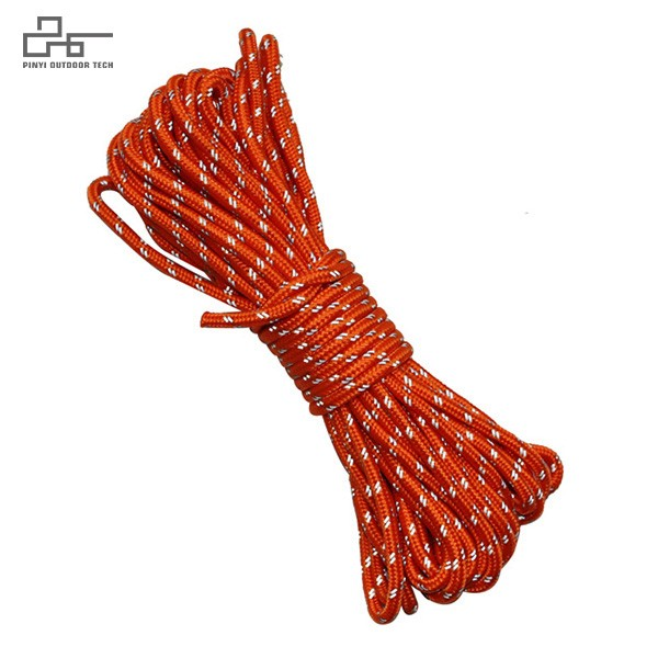 General Purpose Utility Rope Red with Reflecive