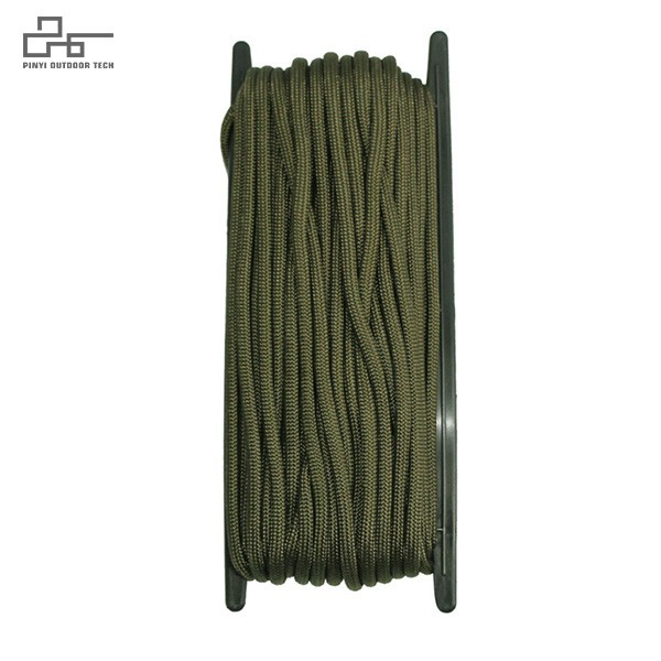 Nylon Paracord Cord 50FT with Plastic Shelf