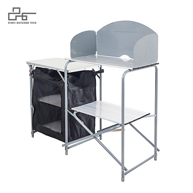 Deluxe Foldable Outdoor Grilling Table