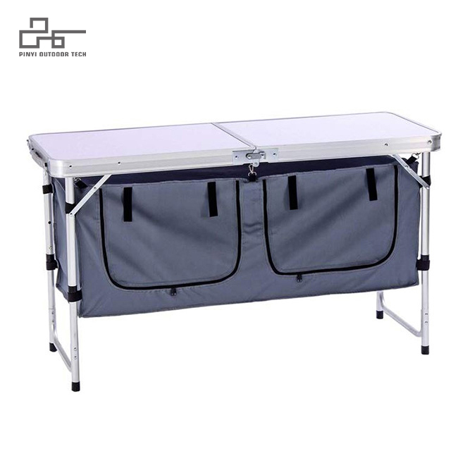 Camping Table With Storage Space