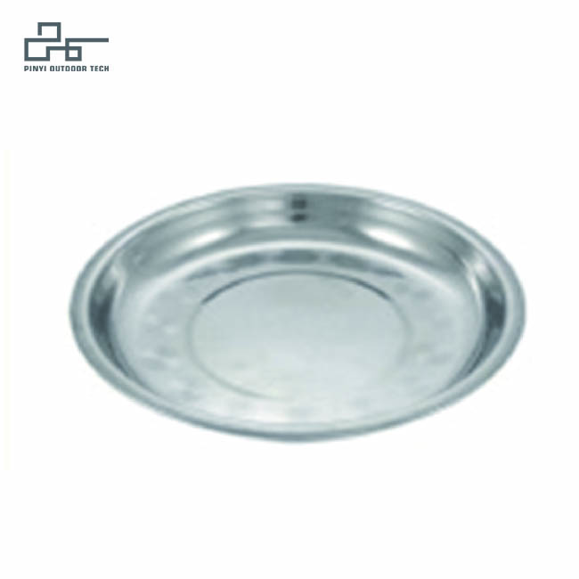 Stainless Steel Flat Bowl