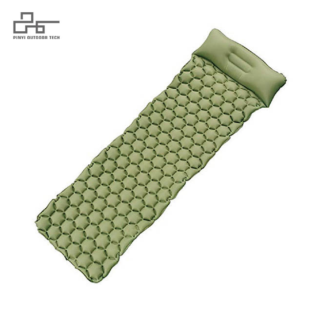 Hexagonal Inflatable Pad With Pillow