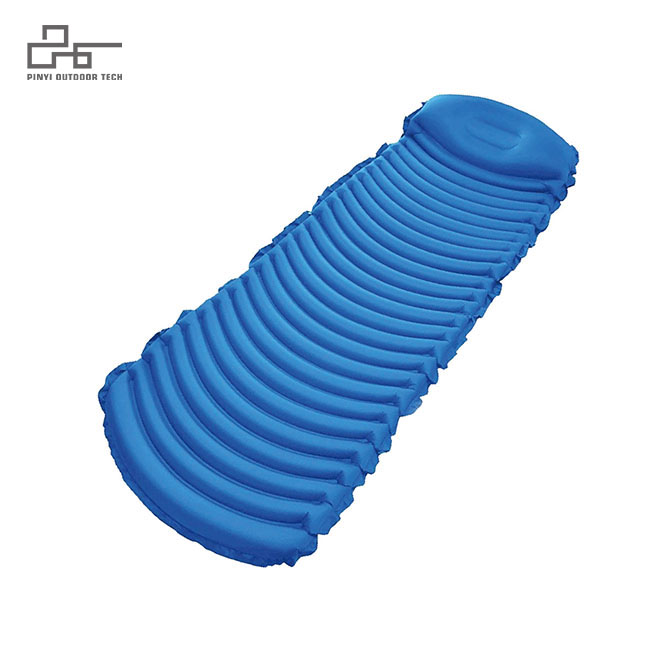 Water Ripple Inflatable Pad With Pillow