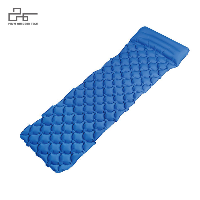 Rhombic Inflatable Pad B With Pillow