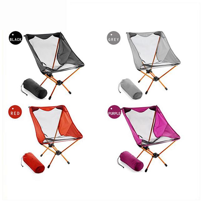Ultralight Heavy Duty Outdoor Folding Camp Chair