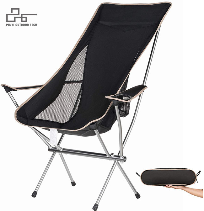 Ultralight Camp Chair With Holder
